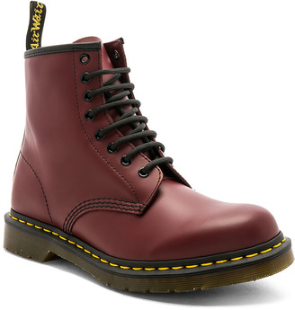 Dr. Martens 1460 8 Eye Boot in Cherry Red | FWRD
