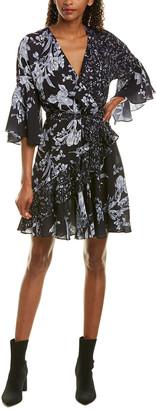 French Connection Ellette Wrap Dress