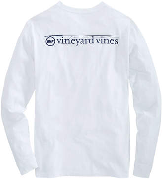 Vineyard Vines Long-Sleeve Fishing Rod Pocket T-Shirt