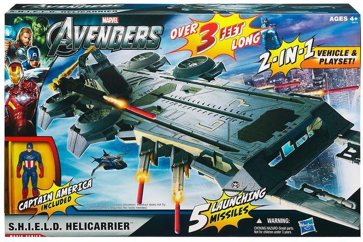 Hasbro Marvel The Avengers SHIELD Helicarrier