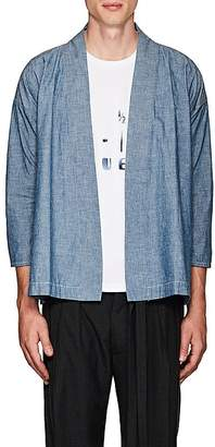 Visvim Men's Cotton Chambray Kimono Shirt