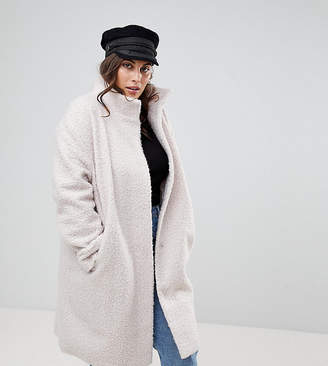Asos Oversized Coat with Funnel Neck