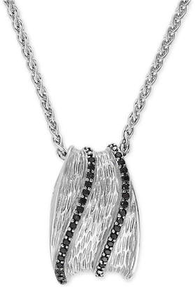 Effy Diamond Pendant Necklace (3/8 ct t.w.) in Sterling Silver