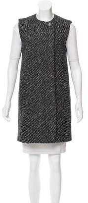 Theory Wool Knee-Length Vest