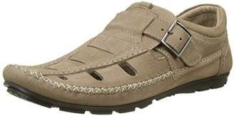 TBS Men's SEOPOL Closed Toe Sandals, Grey (Taupe 013), 8 UK 8 UK