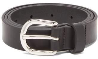 Isabel Marant Zap Leather Belt - Womens - Black