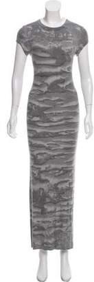 Enza Costa Short Sleeve Maxi Dress