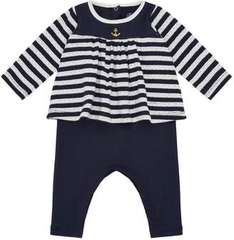 Petit Bateau Nautical Stripe Playsuit