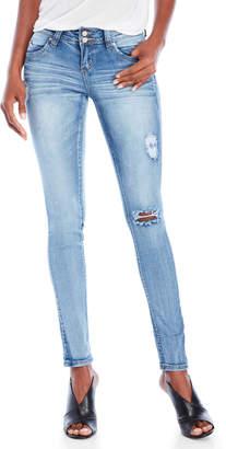 YMI Jeanswear Distressed Skinny Jeans