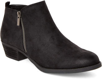 Carlos by Carlos Santana Black Brie Zip Ankle Booties
