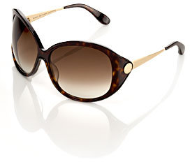 Marc by Marc Jacobs Oversized Round Frame Sunglasses