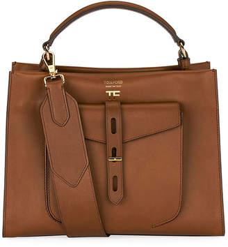 Tom Ford Hollywood Natural Top Handle Bag
