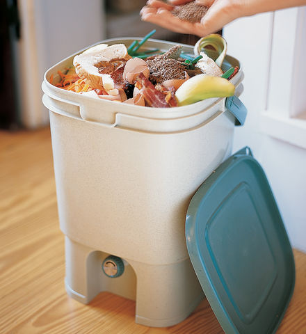 All Food Recycling Compost Kit with Bokashi