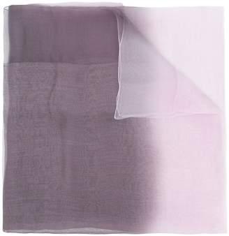Emporio Armani sheer scarf