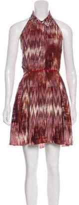 Elizabeth and James Halter Knee-Length Dress w/ Tags