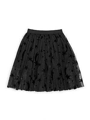 Stella McCartney Little Girl's & Girl's Star Print Tulle Skirt