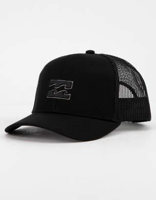 Billabong All Day Black Boys Trucker Hat