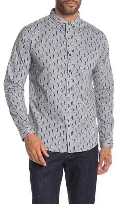 LOFT 604 Penguins Print Regular Fit Shirt