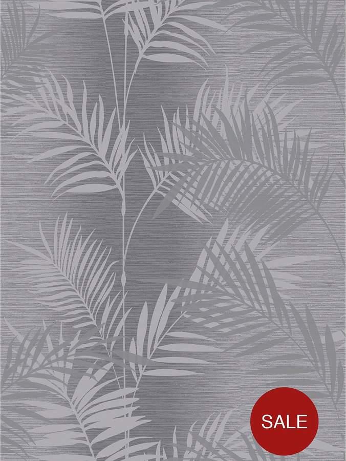 Buy ARTHOUSE Diamond Palm Charcoal Wallpaper!
