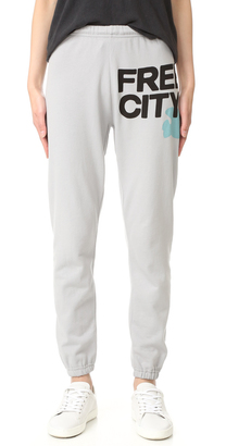 FREECITY Feather Weight Sweatpants $125 thestylecure.com