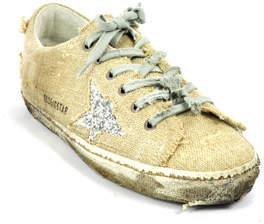 Golden Goose Superstar E72 - Linen Silver Star Sneaker