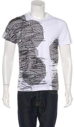 Versus Woven Graphic T-shirt
