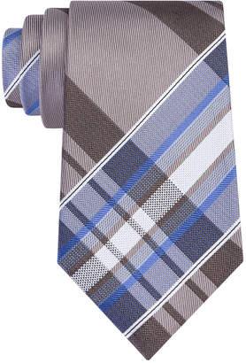 Kenneth Cole Reaction Men Plaid Slim Tie