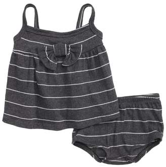 Joah Love Stripe Tank & Shorts Set