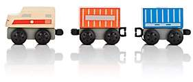 Plan Toys WOODEN CARGO TRAIN