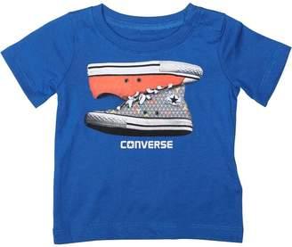 Converse Baby Boys Sneaker Stack T-Shirt Soar