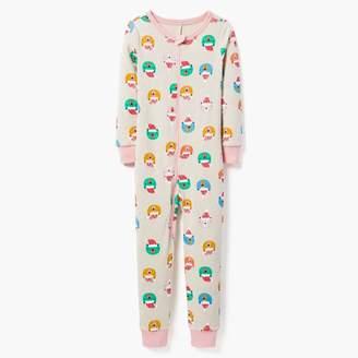 Santa Bear 1-Piece Pajamas