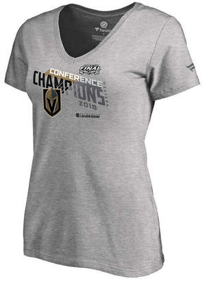 Majestic Women Vegas Golden Knights Big Time Play Conference Champ T-Shirt