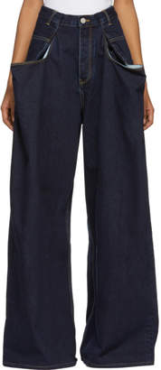 Martine Rose Indigo 3 X XL Jeans