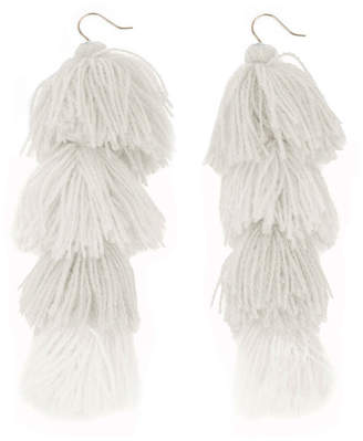 MISA Los Angeles Tassel Knot Earrings