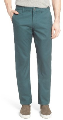 Men's Bonobos Straight Fit Washed Chinos $88 thestylecure.com