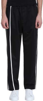 Helmut Lang Black Polyester Trousers