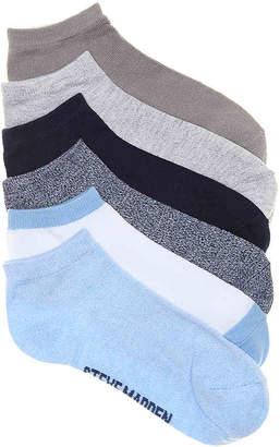 Steve Madden Marled No Show Socks - 6 Pack - Women's