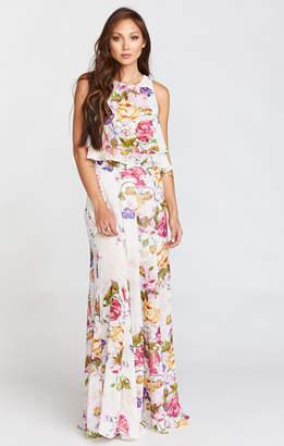Show Me Your Mumu King Bridesmaids Crop Top ~ Best Friend Floral