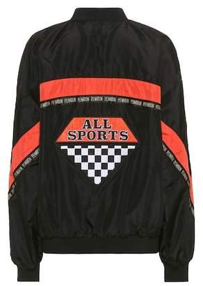 P.E Nation Powerhouse reversible bomber jacket