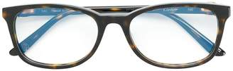 Cartier rectangle frame glasses
