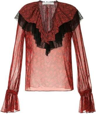 Philosophy di Lorenzo Serafini ruffled blouse