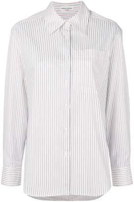 Sonia Rykiel contrast sleeve striped shirt