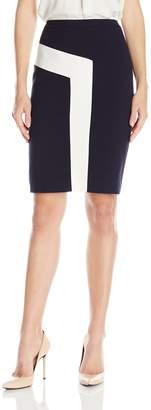Nine West Women's Colorblock Skirt