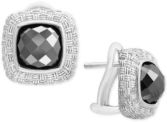 Effy Hematite (8mm) Stud Earrings in Sterling Silver