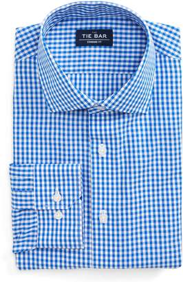 The Tie Bar Standard Fit Check Dress Shirt