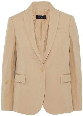 Joseph Ramie And Cotton-Blend Twill Blazer