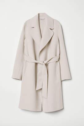 H&M Wool-blend Coat - Beige