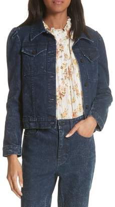 Rebecca Taylor Stretch Denim Jacket