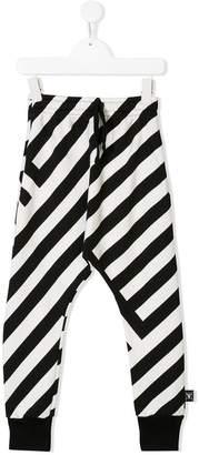 Nununu 360 striped track pants