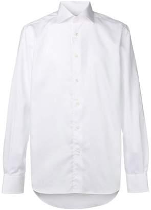 Corneliani long-sleeve fitted shirt